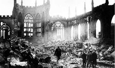 Coventry Cathedral - UK ...after being bombed by the nazis in nov/1940