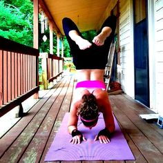Scorpion on a porch » Yoga Pose Weekly