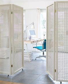 Het kamerscherm als roomdivider - Myhomeshopping.nl