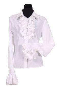 Ruffle Shirt, Beautiful Blouses, Dress Codes, Van, Meet, Formal Dresses, Shirts, Romantic, Women