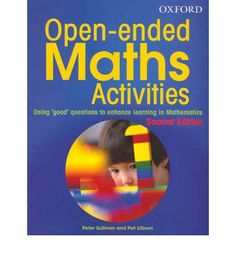 Booktopia has Open Ended Maths Activities Revised Edition, Using good questions to enhance learning mathematics by Peter Sullivan. Buy a discounted Paperback of Open Ended Maths Activities Revised Edition online from Australia's leading online bookstore. Math Classroom, Kindergarten Math, Teaching Math, Teaching Textbooks, Flipped Classroom, Classroom Ideas, Math Resources, Math Activities, Math Enrichment