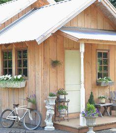 step inside a cozy oregon cottage garden housesgarden shedsguest - Garden Sheds Oregon