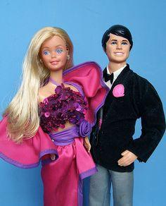 Vintage 1982 Superstar Dream Date Barbie Ken Dolls EXC Shape | eBay