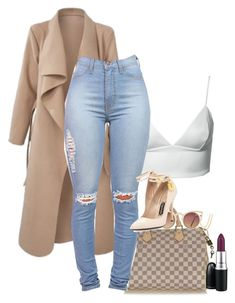 A fashion look from August 2015 featuring Dark Pink tops, Tom Ford pumps and Louis Vuitton handbags. Browse and shop related looks. Swag Outfits, Classy Outfits, Stylish Outfits, Fall Outfits, Fashion Outfits, Dope Outfits, Trend Fashion, Look Fashion, Winter Fashion
