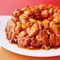 bhg monkey bread...why I would want to eat anything named after a stinky monkey, I don't know.  But it looks damn tasty