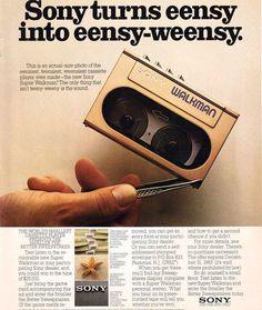 Sony Walkman 1983 > loved my Walkman!