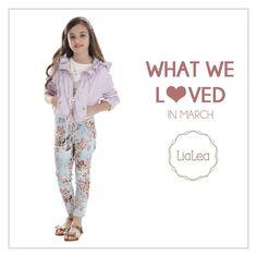 Baharın heyecanını LiaLea yeni yaz koleksiyonunun şık kombinleri ile yaşıyoruz .  Celebrating Spring with LiaLea's new summer collection's outfits!