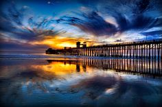 Oceanside, Ca The Pier, heading here with the family in March!