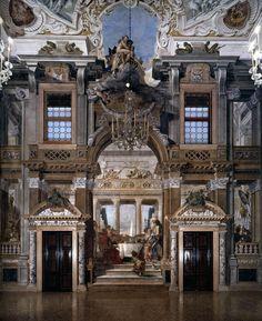 Giambattista Tiepolo - affreschi a Palazzo Labia, 1746 Venice.