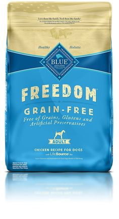 Blue Buffalo Freedom Grain-Free Beef Dry Recipe for Dog, Adult >>> Review more details here : Dog treats