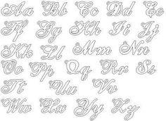 Resultado de imagem para letras diferentes para desenhar