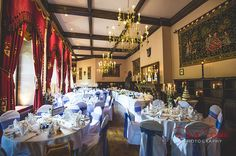 For couples who LOVE photography, but HATE to be posed. Peckforton Castle, Castle Weddings, Love Photography, Fairytale, Wedding Venues, David, Autumn, Table Decorations, Wedding Reception Venues
