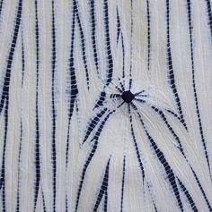 A Long Piece of Yanagi Shibori: Willow Image