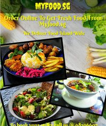 Get Best Singapore Food Delivery Service From Myfood Sg Singapore Food Food South Indian Food