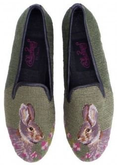 needlepoint loafters