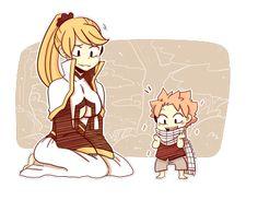 Little Natsu and Anna