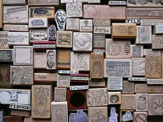 wow.. would love to have this rubber stamp collection.