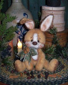 Primitive Patti's Ratties Raggedy Bunny Rabbit Doll Pattern 633 | eBay