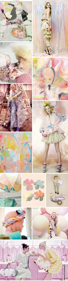 Spring Fashion Report: Pastels are in!