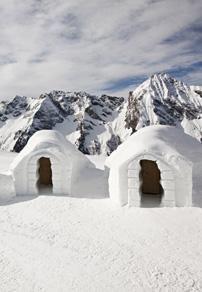 sleep in a Iglu #Mayrhofen #Austria #Tirol #Österreich #Zillertal