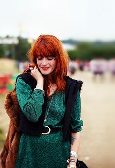 willymw:  Florence Welch photographed by Burak Cingi