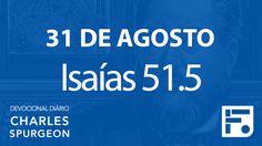 31 de agosto – Devocional Diário CHARLES SPURGEON #244