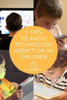 5 Tips to Avoid Technology Addiction in Children