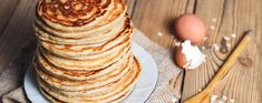 Low in carbs but still the delicious taste of real pancakes. Try our recipe for oatmeal pancakes and start your every day with the perfect breakfast! Oatmeal Recipes, Almond Recipes, Low Carb Recipes, Low Carb Breakfast, Perfect Breakfast, Pannekoeken Recipe, Carpaccio Recipe, Atkins Snacks, Low Carb Quiche