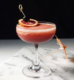 The Frozen Blood and Sand Cocktail is better than a regular Blood and Sand CocktailStir and Strain