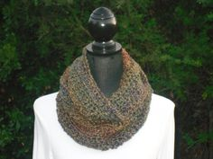 A personal favorite from my Etsy shop https://www.etsy.com/listing/115602377/hooded-infinity-eternity-cowl-neck