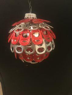Soda pop top ornament