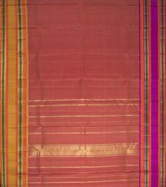 Kanakavalli Handwoven Kanjivaram Silk Sari 000874 - Sari / Kanjivarams - Parisera