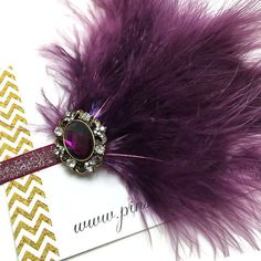 1920s Hair Accessories  Baby Headbands  Feather by PinsandNeedles0