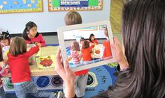 LIfe Cubby Communication Technology in use in the Early Childhood Classroom.