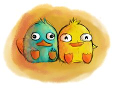 Baby perry and Ducky MoMo