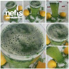 Zayıflatan Cildi Sıkıştıran Maydanoz Limon Suyu Kuru Tarifi