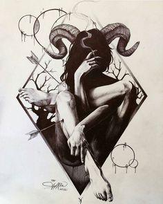 Cigarette & Horns