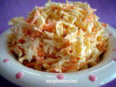 nergismevsimi: Mezeler-Salatalar Turkish Mezze, Cabbage, Vegetables, Pasta, Foods, Drinks, Food Food, Drinking, Beverages