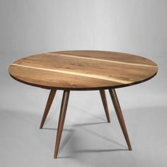 Round Dining Table, 1957 by George  Nakashima
