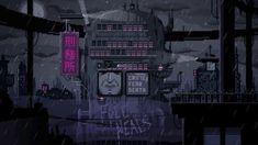 Tagged with gif, video games, pixel art, dump, cyberpunk; Pixel Art Gif, How To Pixel Art, Vaporwave, Gifs, Steam Artwork, Arte 8 Bits, Pixel Art Background, Backgrounds, Fantasy