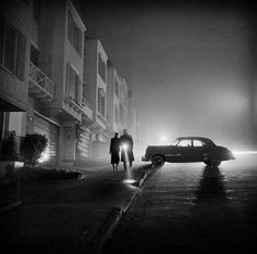 vintage everyday: Amazing Black and White Photographs of San Francisco from between the 1940s and 1950s