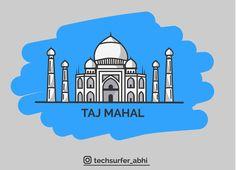 Vector Art of Taj Mahal. #techsurfer_abhi #abhishekgupta #abhi #vector #art #illustration #tajmahal #vectorart #taj #techheap #techsurfer