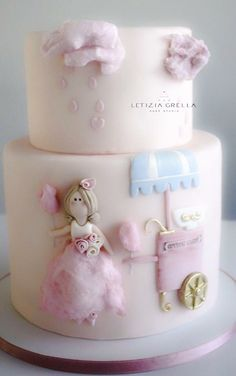 Candy cotton doll