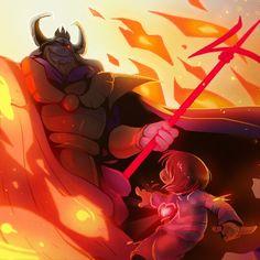 Asgore Boss Battle