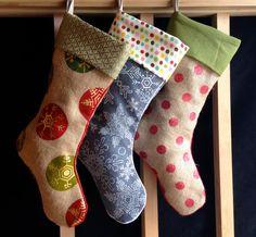 Love these awesome Etsy stockings!  https://www.etsy.com/listing/208020230/custom-christmas-stocking-w-monogramming