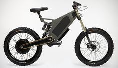 Bomber Stealth Electric Bike. Save your energy to fight the zombies, not pedal the bike.