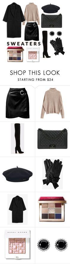 """""""Winter look"""" by karo-filipek on Polyvore featuring moda, Sans Souci, ALDO, Chanel, Element, Monki, Bobbi Brown Cosmetics i Thomas Sabo"""