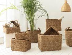Peek A Boos, Wicker Baskets, Home Decor, Decoration Home, Room Decor, Home Interior Design, Home Decoration, Woven Baskets, Interior Design