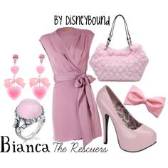 Bianca-The Rescuers, created by lalakay.polyvore.com