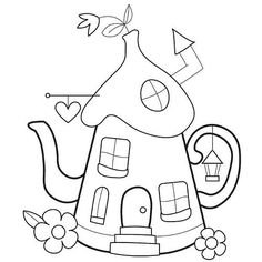 pixie teapot shaped house